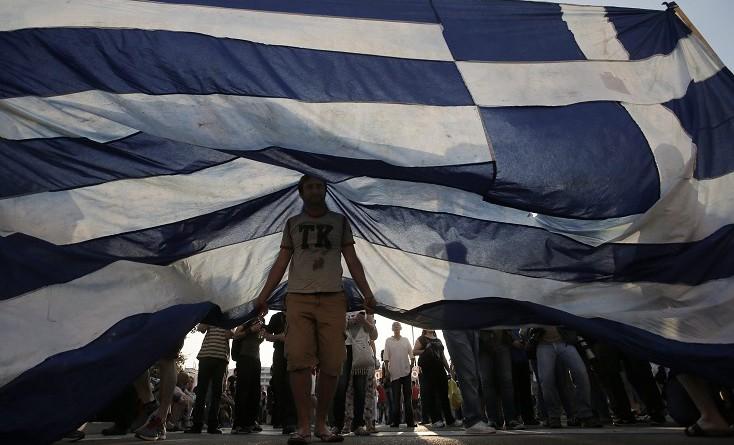 Гърция флаг
