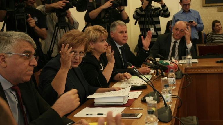 Бизнесът бюджет комисия