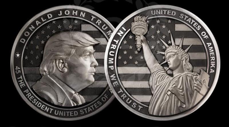 Оръжейници Тръмп монета