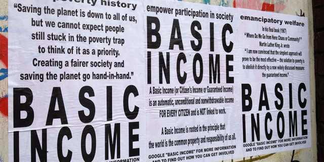Финландия експеримент доход