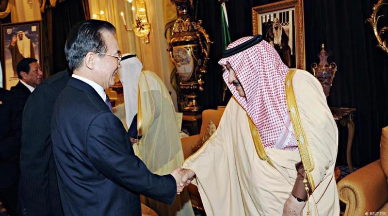 Сделки крал Салман Китай