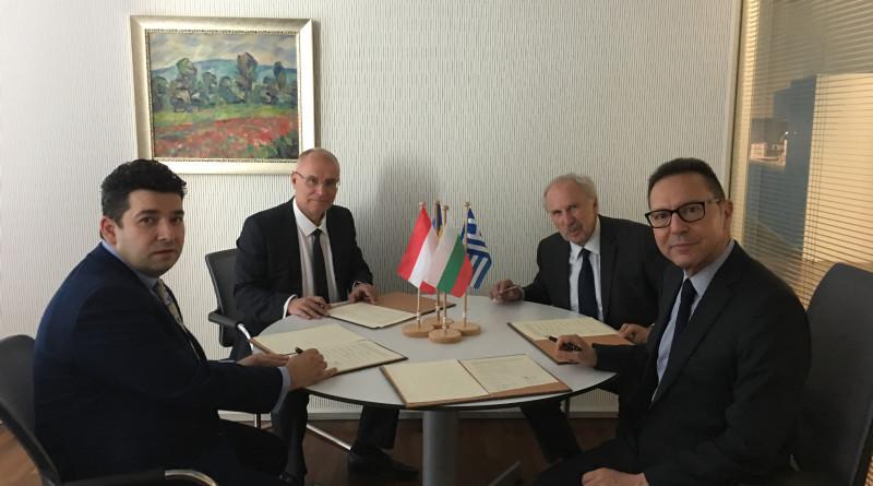 Централни банки подпис сътрудничество