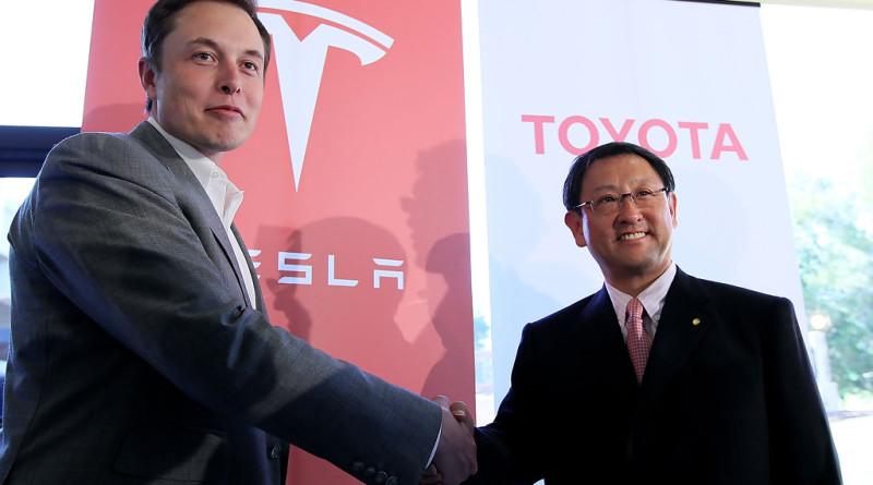 Toyota Tesla+Motors