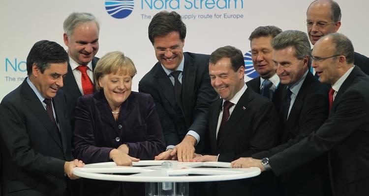 Американските санкции газ Европа