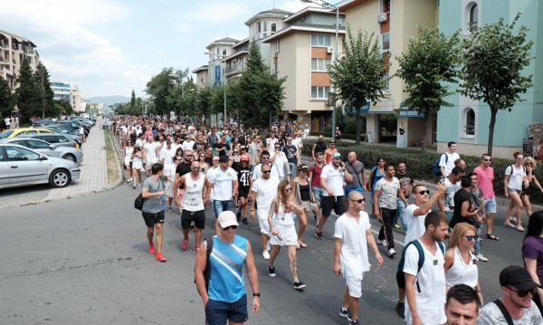 Работници протести Слбряг