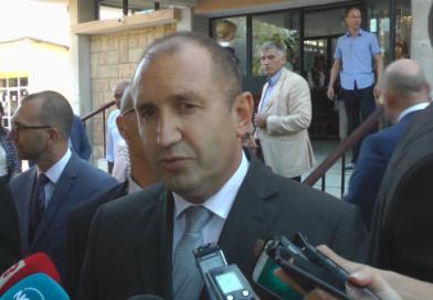 Румен Радев гарантира сигурността на Цветан Василев