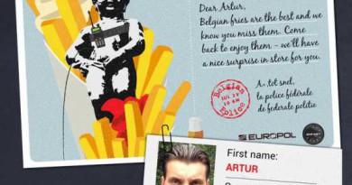 Европолицаи търсят бегълци с пощенски картички