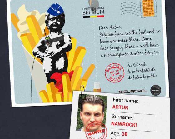 Европолицаи издирване картички