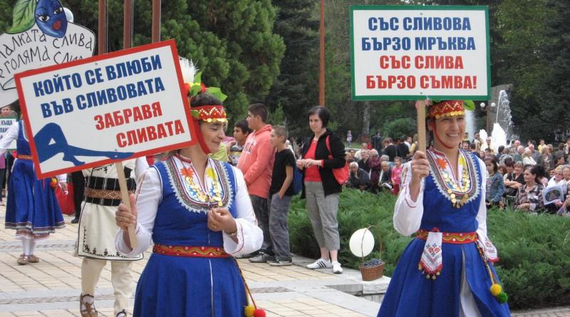Фестивалът слива шествие