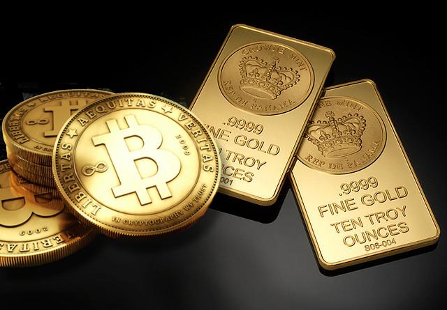 Биткойнът алтернатива златоo
