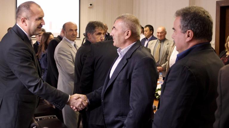 Президентът среща кметове