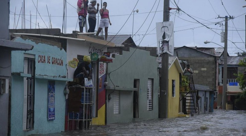 Ураганите щети karibite