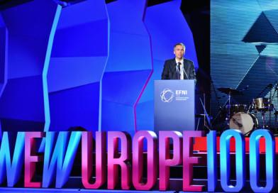 Седем български проекта са финалисти в New Europe 100