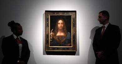 """Спасителят на света"" на Леонардо бе продадена за рекордните $450,3 млн."