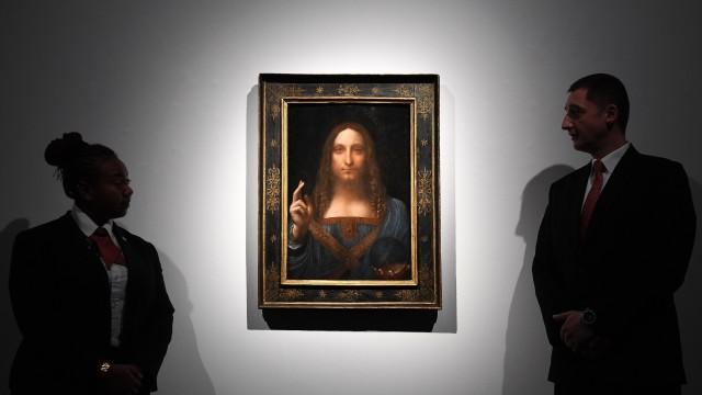 Спасителят на света Леонардо търг Кристис