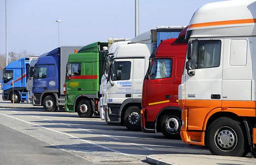 В Белгия спряха камиони