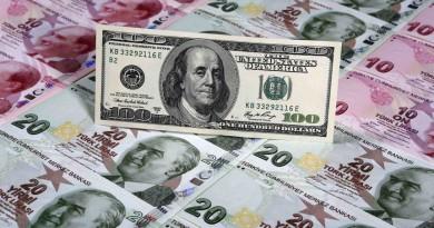Турската лира е най-зле представящата се спрямо долара валута за 2017