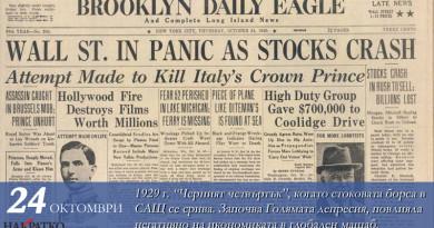 Десет години от Великата депресия – 2