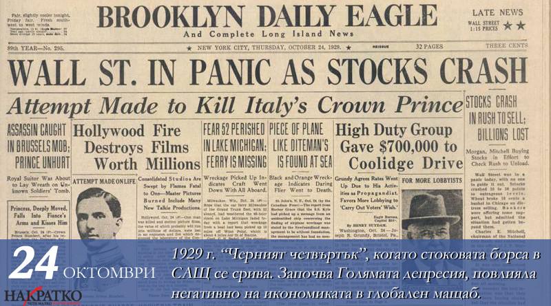 Десет години криза финанси