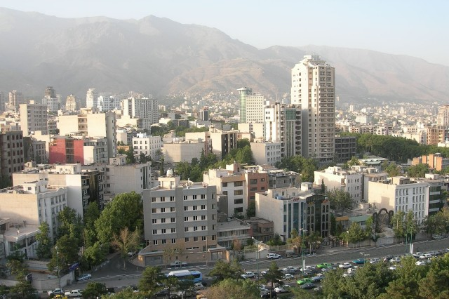 Техеран икономика цели