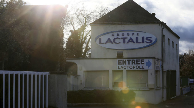 Лакталис изтегля заразено мляко