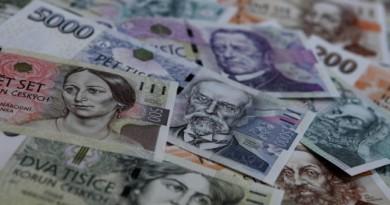 Чешката крона е поскъпнала с около 20% спрямо долара