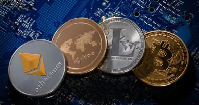 Кои са трите най-големи криптовалути