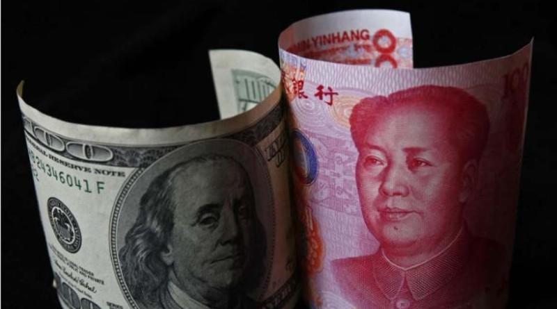 Китай юан долар