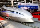 В Китай пътнически влакове развиват 400 км/ч