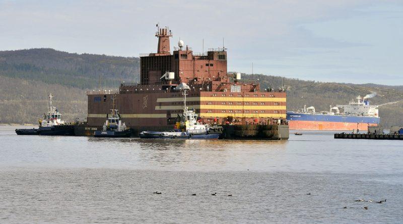 Плаващият АЕЦ гориво зареждане