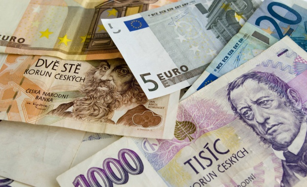 Чехия крона евро