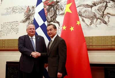 Меморанндум Гърция Китай