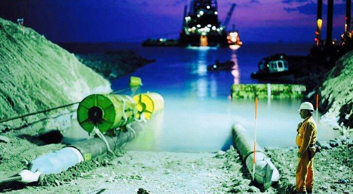 Газпром изграждане обекти