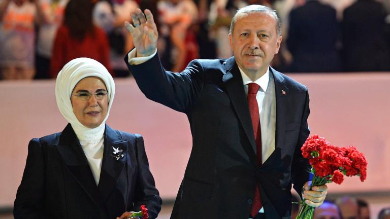 Турция ердоган натиск