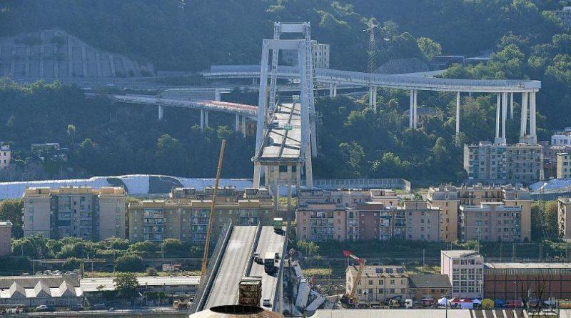 Генуа Акционерите мост Генуа
