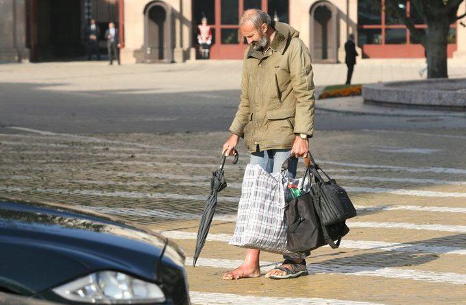 Президентът България бедност просяк