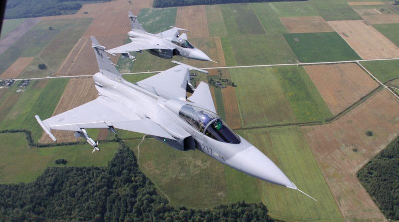 Швеция самолети инвестиции