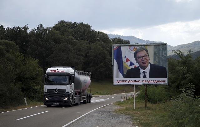 Косово Сърбия търговска война