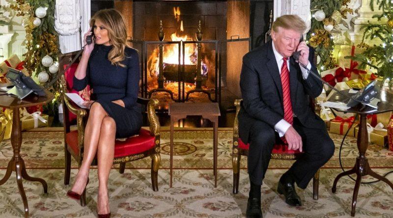Стената Тръмп Коледа