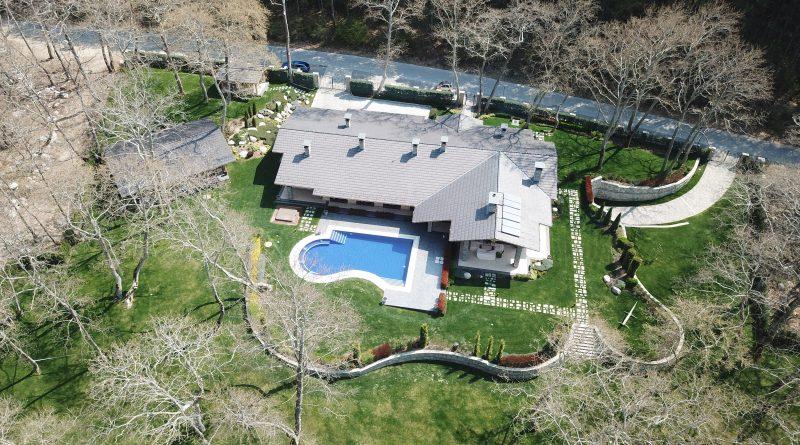 Къща за гости, дрон, снимка, Манолевr