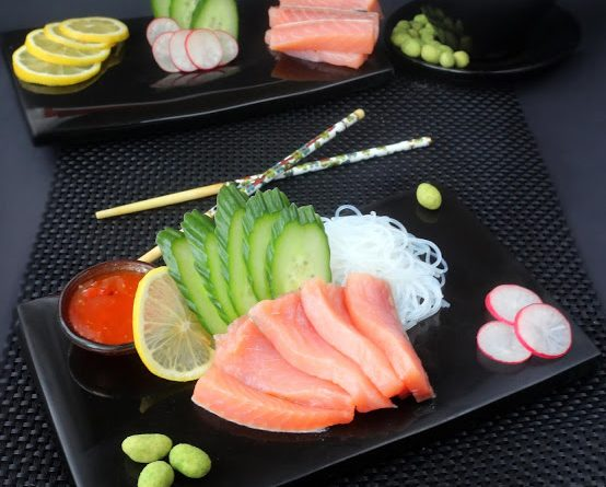 храна, свят, изложение sashimi 3
