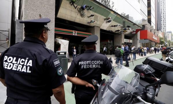 бандити Мексико сити грабеж монети