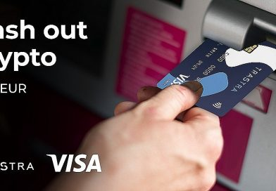 Моментално теглене на Биткойн и други криптовалути с карта VISA