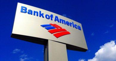 Печалбата на Bank of America е спаднала наполовина