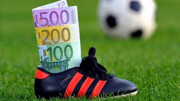 футбол, финанси, планиране