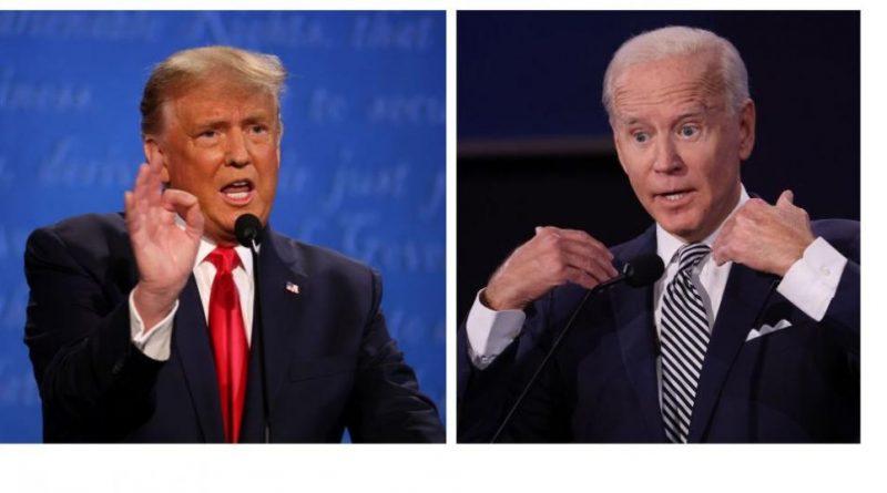 избори, САЩ, trymp-bajdyn